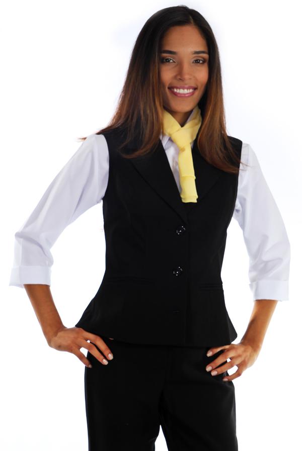 a4db59aba1 Colete Social Oxford - Uniforme Feminino - Yoshida uniformes sociais ...