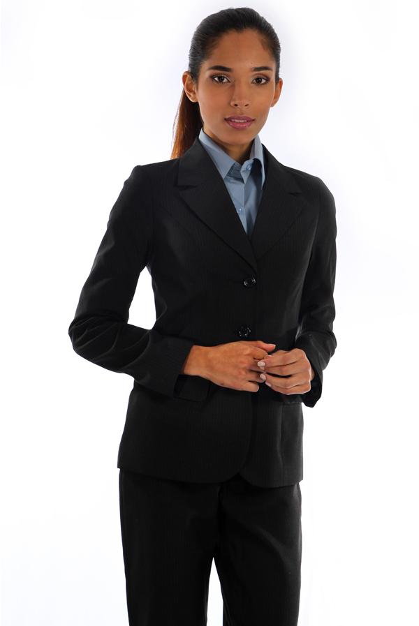 878022735d Blazer Risca de Giz - Uniforme Feminino - Yoshida uniformes sociais ...