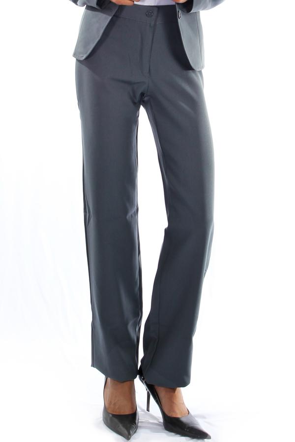 639d302d94 Calça Social Oxford Cinza - Uniforme Feminino - Yoshida uniformes ...